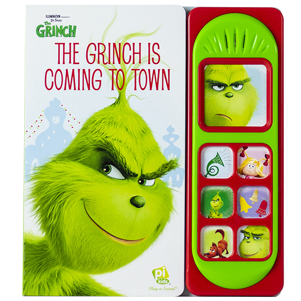 Dr. Seuss' The Grinch is Coming to Town Sound Book