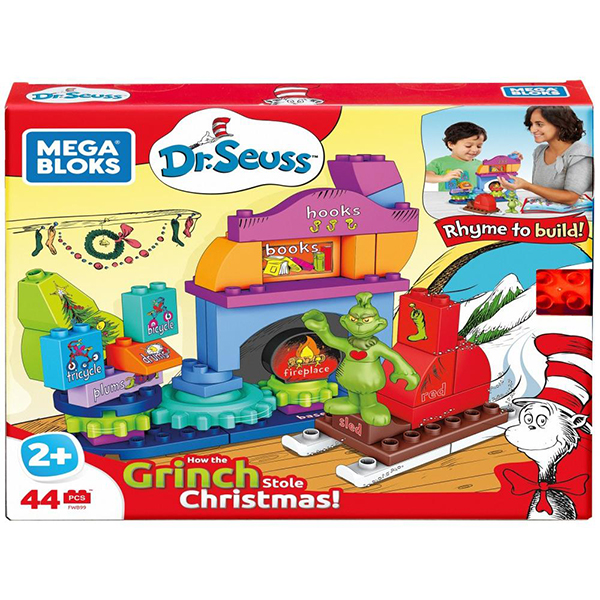 Mega Bloks Dr. Seuss How the Grinch Saved Christmas Set