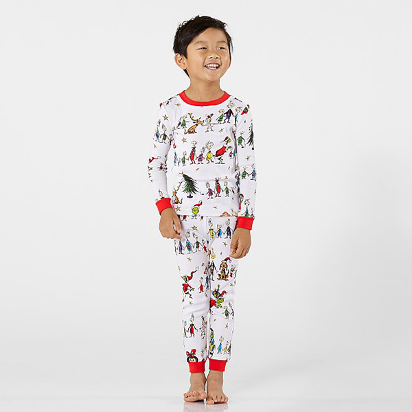 Pottery Barn Kids Grinch Cotton Pajamas