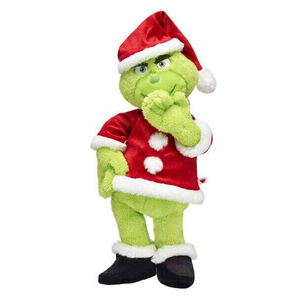 Build-a-Bear the Grinch Santa Suit Gift Bundle