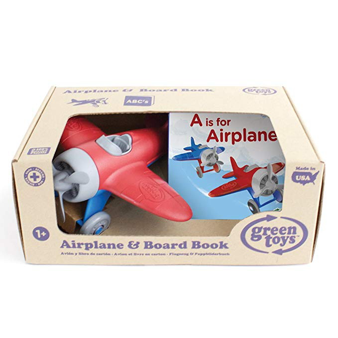 Green Toys Airplane & Board Book