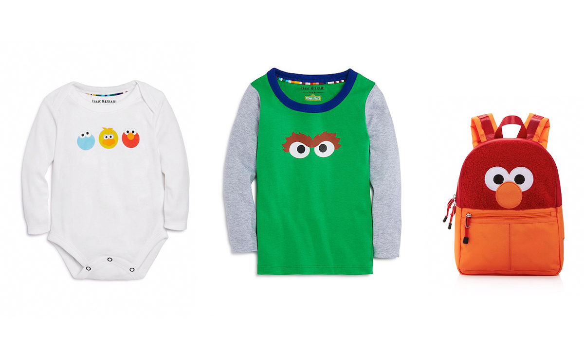 Sesame Street Celebrates 50 Years with the Most Adorable Isaac Mizrahi Collection for Kids!