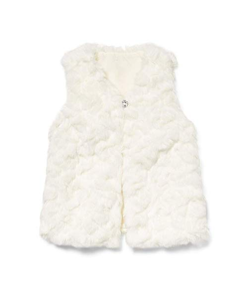 Rachel Zoe x Janie and Jack Party Collection Faux Fur Long Vest