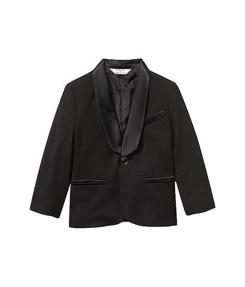 Rachel Zoe x Janie and Jack Party Collection Wool Tuxedo Jacket
