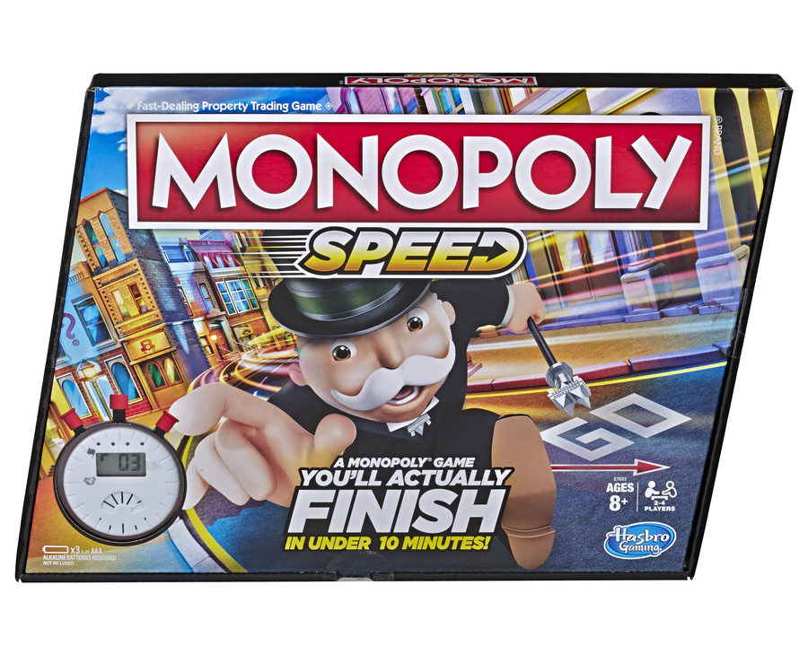 Introducing Monopoly Speed, Your Family's New Favorite Board Game