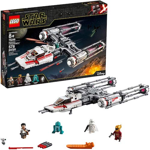 LEGO Star Wars: The Rise of Skywalker Resistance Y-Wing Starfighter (75249)