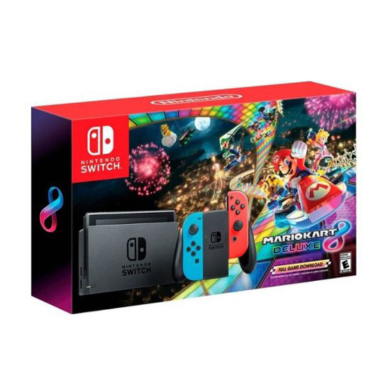 Nintendo Switch with both Mario + Rabbids Kingdom Battle and Starlink: Battle for Atlas