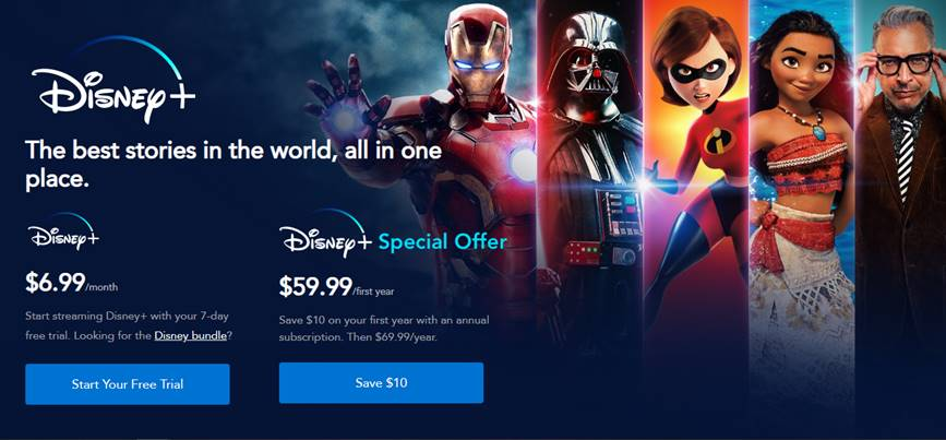 Don't Miss the Disney+ Cyber Monday Deal Happening Today