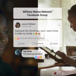 Facebook Partners With Military Mama Network For Its 'More Together' Campaign
