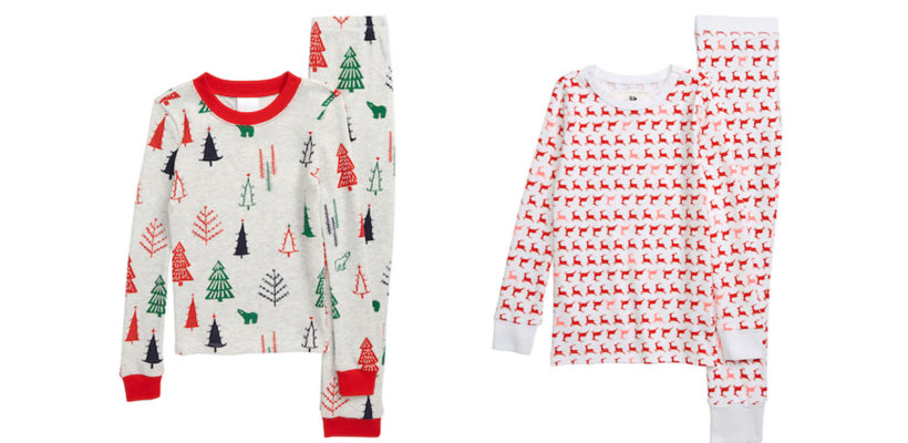 Who could possibly sleep knowing that Santa is coming to town soon? As your kid eagerly begins the countdown to Christmas, dreaming of dozens of presents tucked beneath the tree, these fabulously festive pajamas will get them in the spirit…