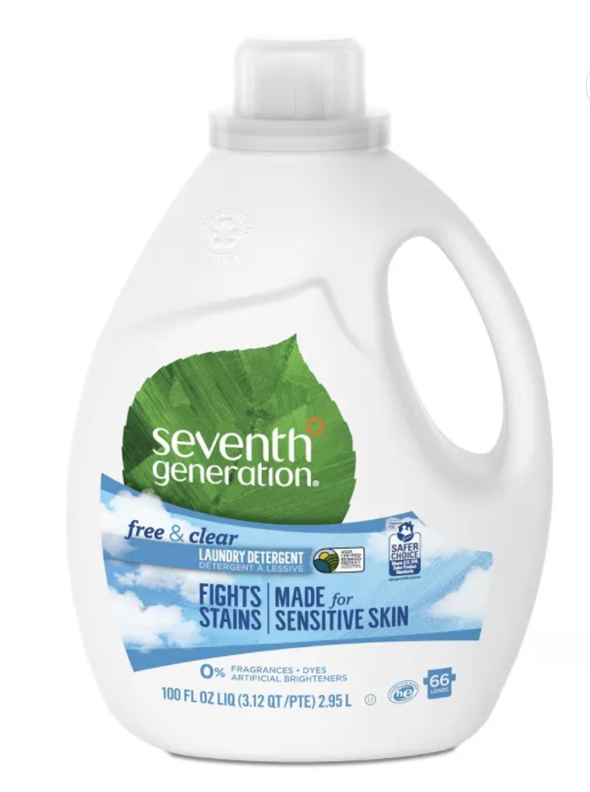 Seventh Generation Free and Clear Natural Liquid Laundry Detergent