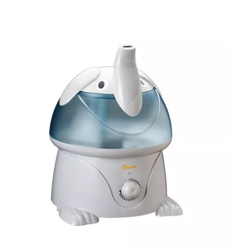 Crane Adorable Elephant Ultrasonic Cool Mist Humidifier