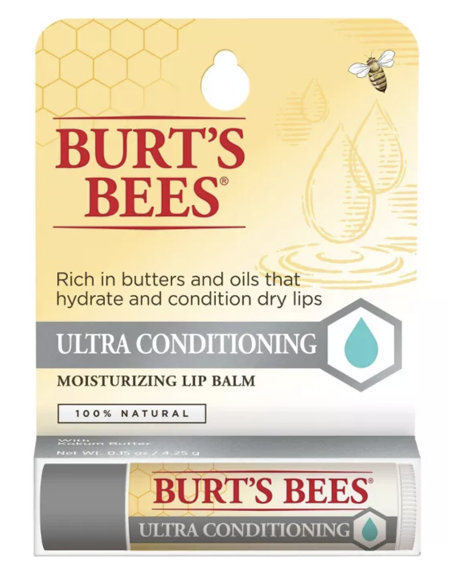 Burt's Bees Ultra Conditioning Moisturizing Lip Balm