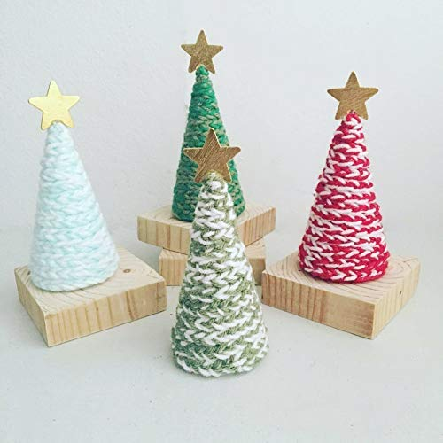 Handmade Holiday Christmas Trees