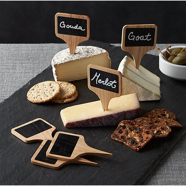 Chalkboard Cheese Markers