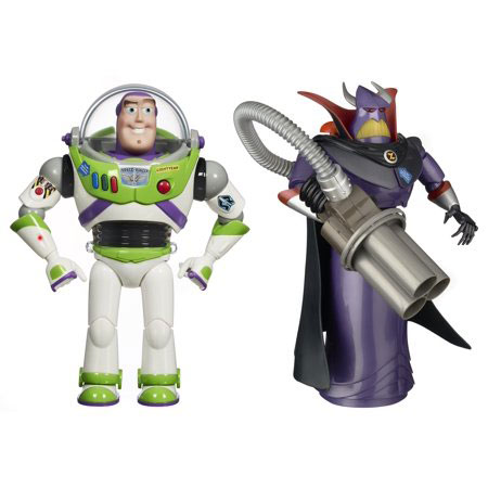 'Toy Story' Buzz Lightyear and Emperor Zurg Talking Action Figures-