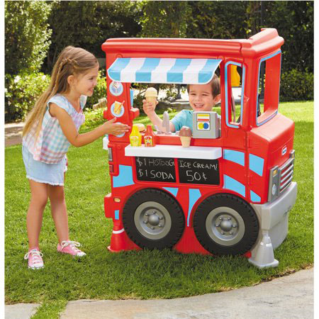 Little Tikes 2-in-1 Food Truck Play Kitchen