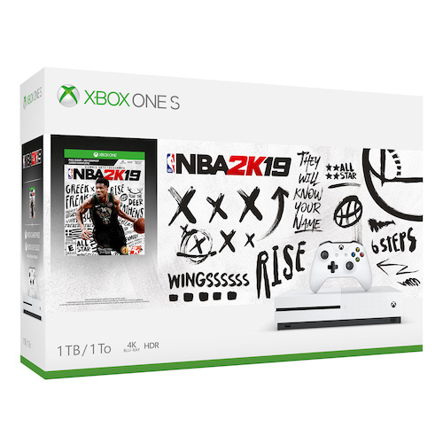 Microsoft Xbox One S 1TB NBA 2K19 Bundle