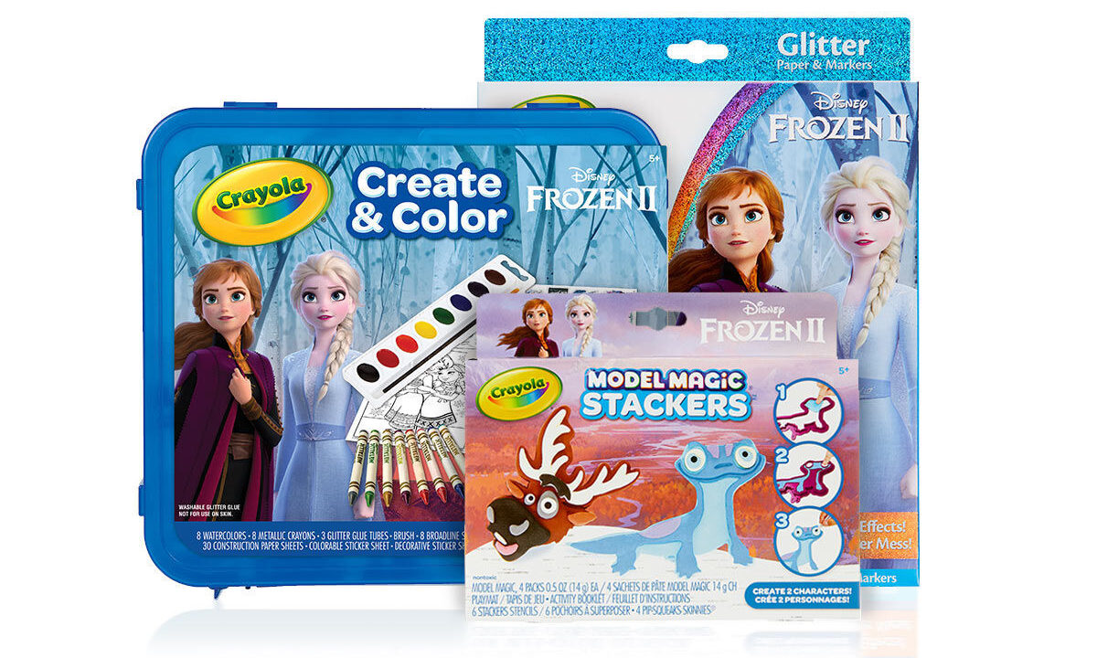 These Fun Crayola Frozen 2 Craft Sets Make a Super Cool Holiday Gift!