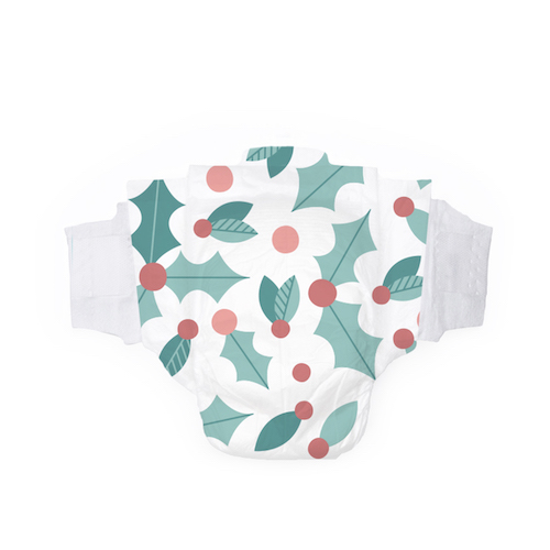 Hello Bello Jumbo Pack of Holly Jollies Diapers