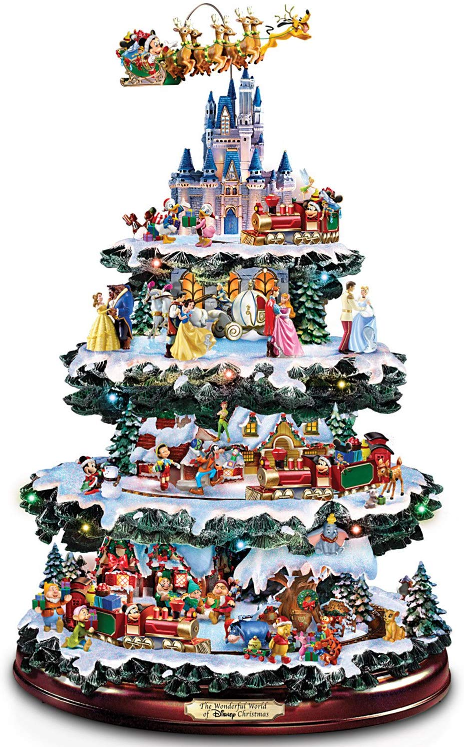 Disney Tabletop Christmas Tree