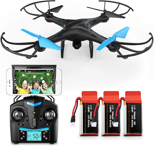 Force1 U45W Blue Jay Drone with Camera