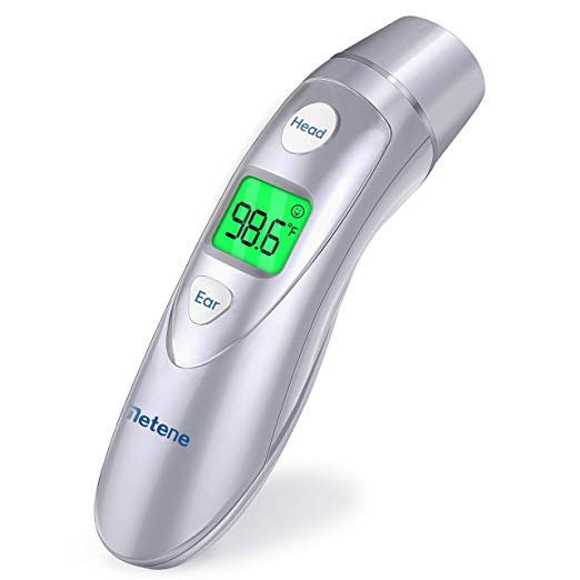 Medical Forehead and Ear Thermometer