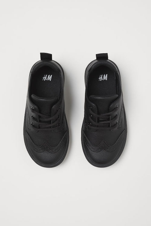 H&M Brogue-Patterned Sneakers