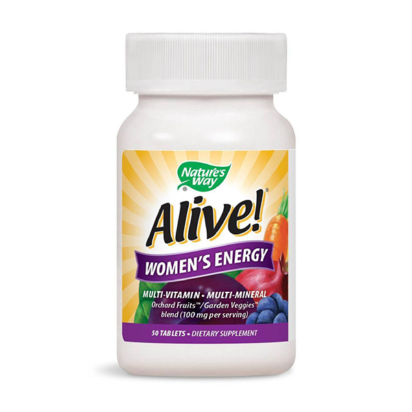 Nature's Way Alive! Women's Energy Multivitamin Tablets
