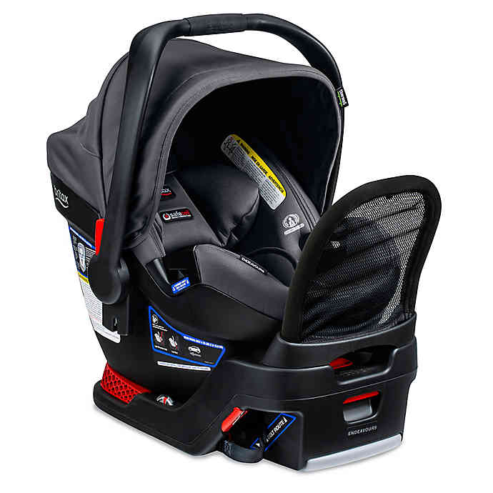 BRITAX Endeavours Cool N Dry Collection Infant Car Seat in Charcoal