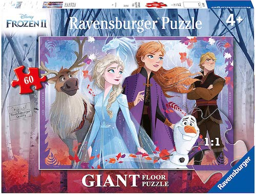 60 Piece Ravensburger Frozen 2 Floor Puzzle