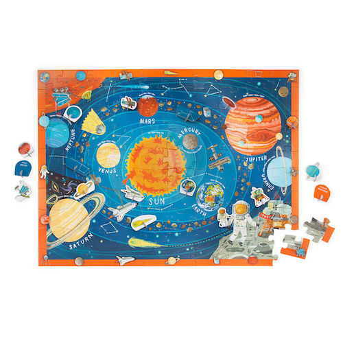 Uncommon Goods Outer Space Play & Learn Puzzle