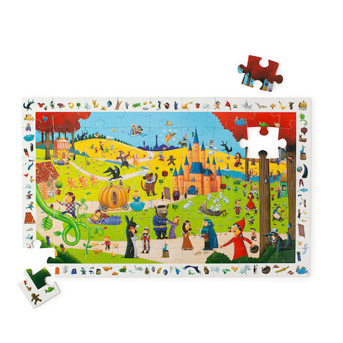Uncommon Goods Search and Find Storybook Puzzle