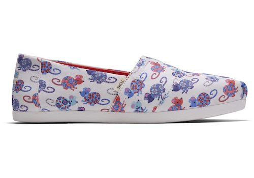 Toms Year Of The Rat Women's Classics Slip-On