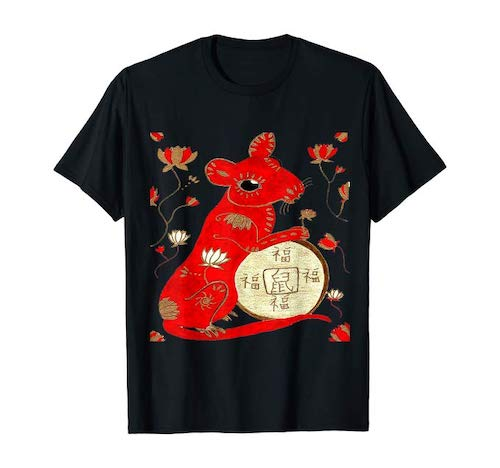 T and T 2020 Year of The Rat T-Shirt
