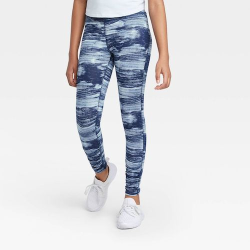 Target All in Motion Girls' Ruched Performance Leggings