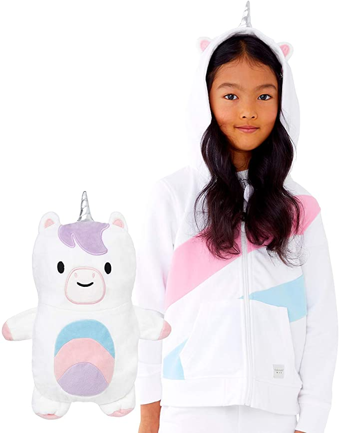 Cubcoats Uki the Unicorn Zip-Up Hoodie