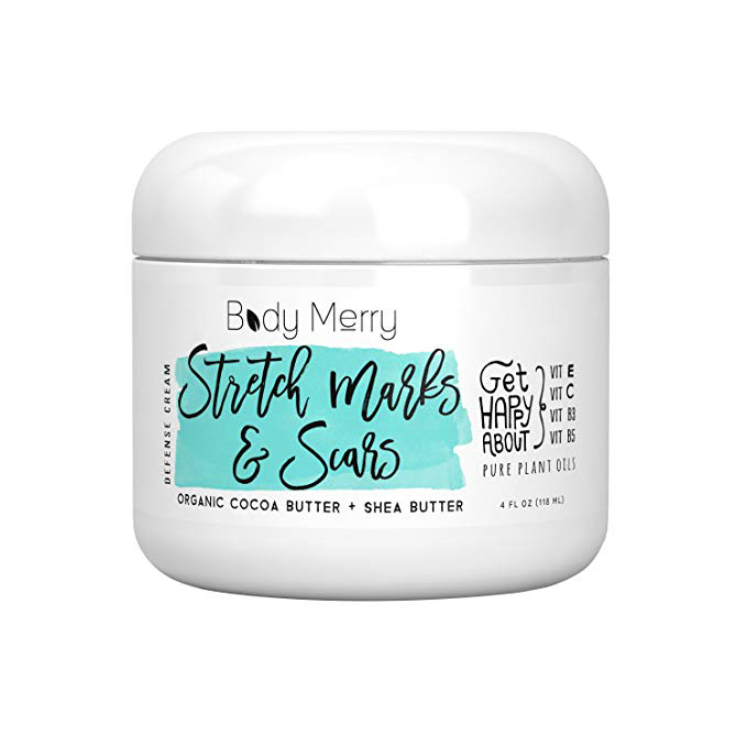 Body Merry Stretch Marks & Scars Defense Cream