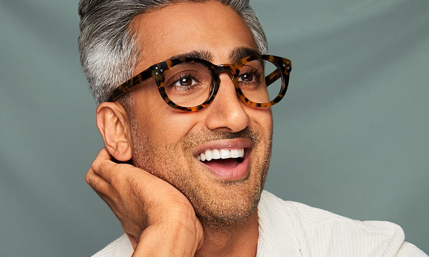 Queer Eye's Fashion Expert Tan France Breaks Down How to Find the Right Eyewear for Your Face