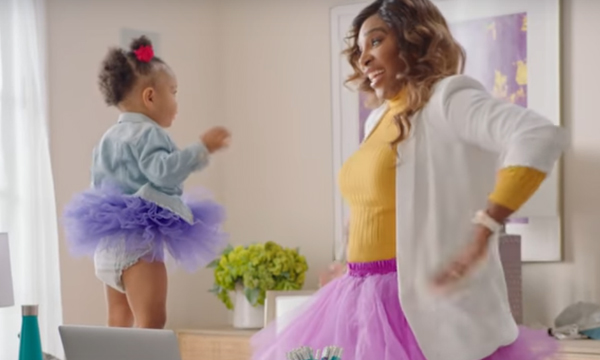 Serena Williams Likes to Celebrate Her 'Wild Child' in the Most Adorable Way