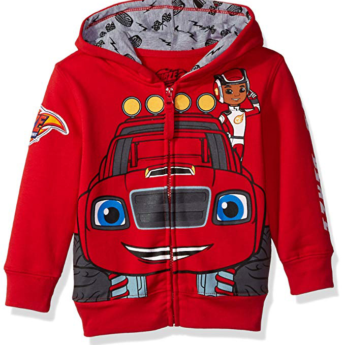 Toddler Monster Machines Lets Blaze Hoodie