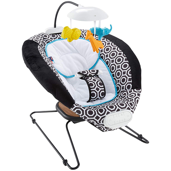 Fisher Price Deluxe Baby Bouncer by Jonathan Adler