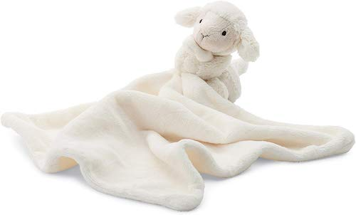 Jellycat Bashful Lamb Baby Security Blanket