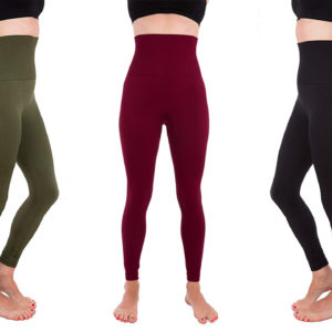 Moms Are Raving About the Tummy Control 'Magic Fabric' in These $20 Leggings on Amazon