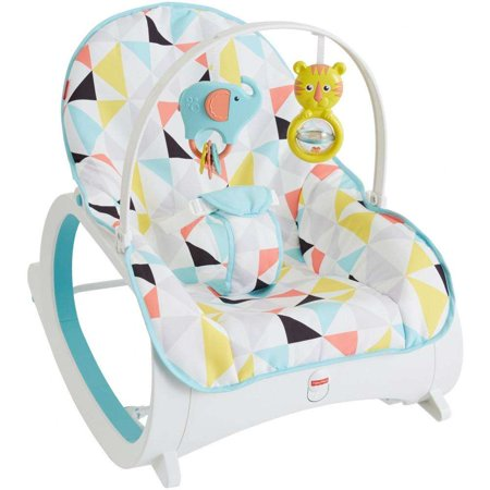 Fisher-Price Infant-To-Toddler Rocker with Removable Toy Bar