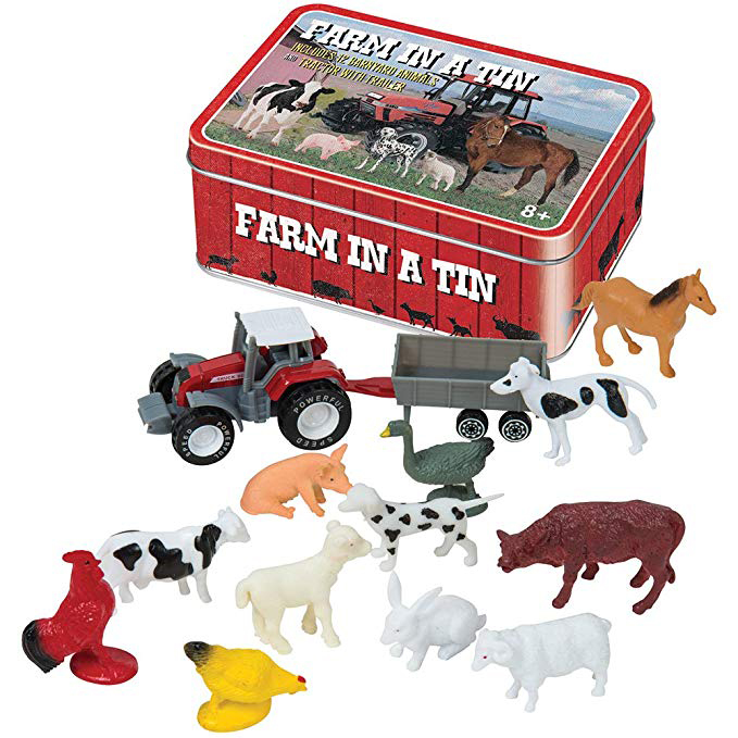 Farm In a Tin Novelty Set