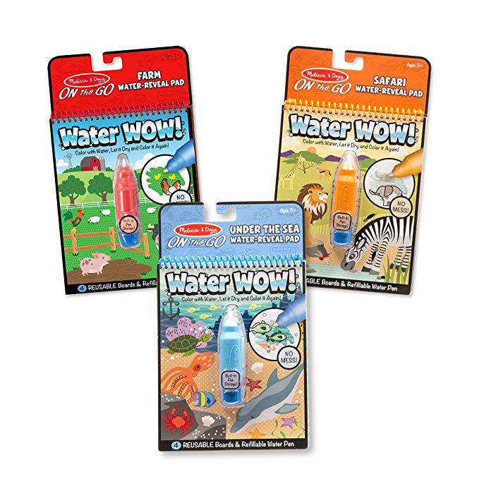 Melissa & Doug Water Wow Books
