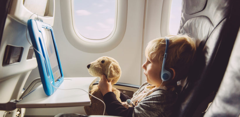 Toddlers and plane rides aren't exactly the perfect combination. In fact, it's more of a perfect storm—enclosed space, tons of strangers in close proximity, pressure changes, etc. You get the picture and have also likely experienced traveling with your toddler…