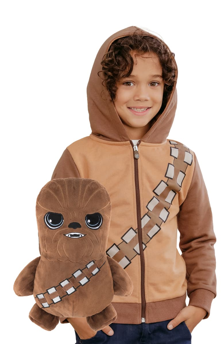 Star Wars Chewbacca 2-in-1 Stuffed Animal and Hoodie