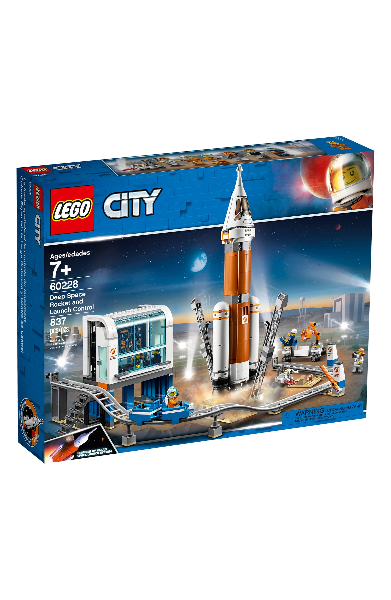 Lego Space Rocket Launch Set